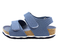 Birkenstock Palu sandal hexagon tech blue