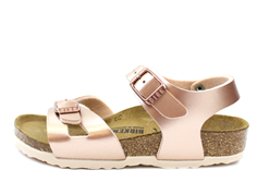 Birkenstock Rio sandal electric metallic copper