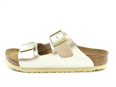 Birkenstock Arizona sandal electric metallic gold (medium-bred)