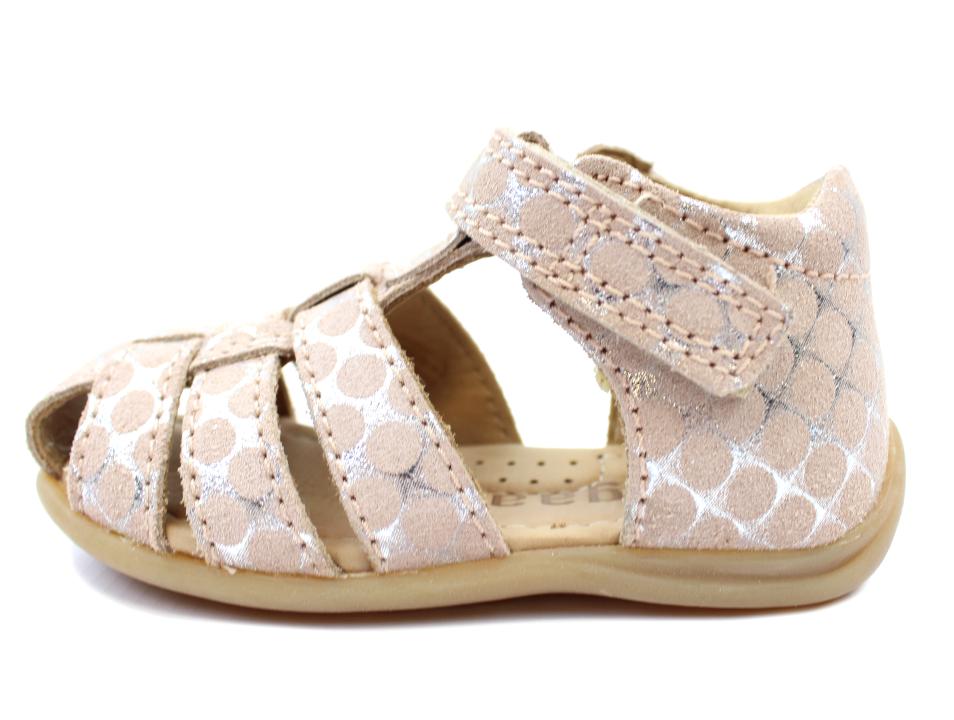9a03e31be88 Bisgaard sandal rosa dots begyndersandal | 71206.118 118 rose dots | str. 20-25  | UDSALG