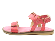 Bisgaard sandal berry metallic