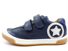 e42870ce15f Bisgaard sneakers blå med stjerne   40332.119