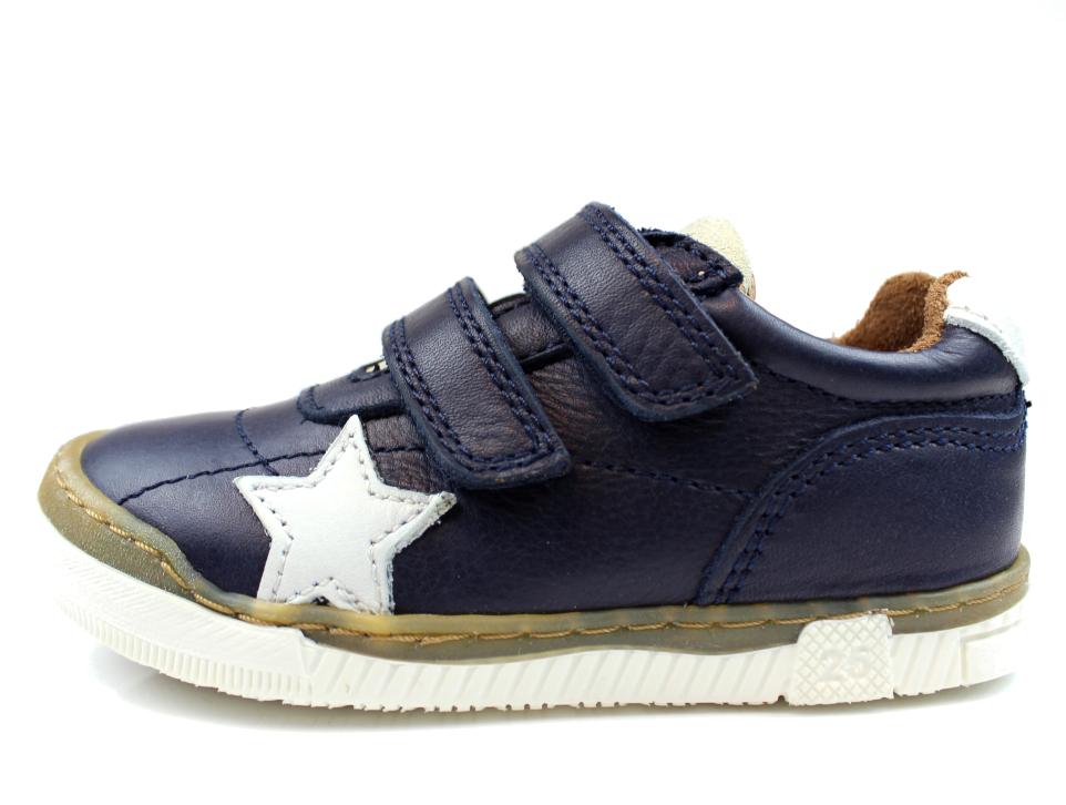 b87eb07f692 Bisgaard sneakers blå med stjerne   40305.117 600 Blue   str. 24-32 ...