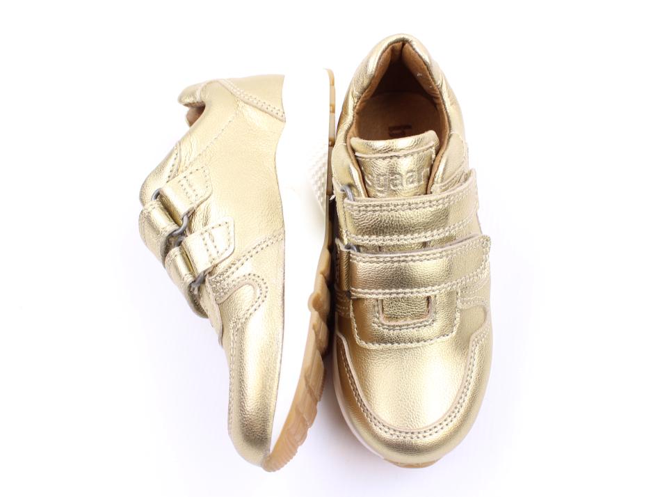 335970592473 Bisgaard sneaker gold med velcro