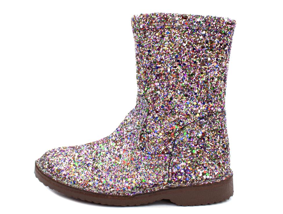 3ac93f478b3 Bisgaard støvle i multi glimmer   50224.218 Multi Glitter   str. 27-33   Fra  799,90.-