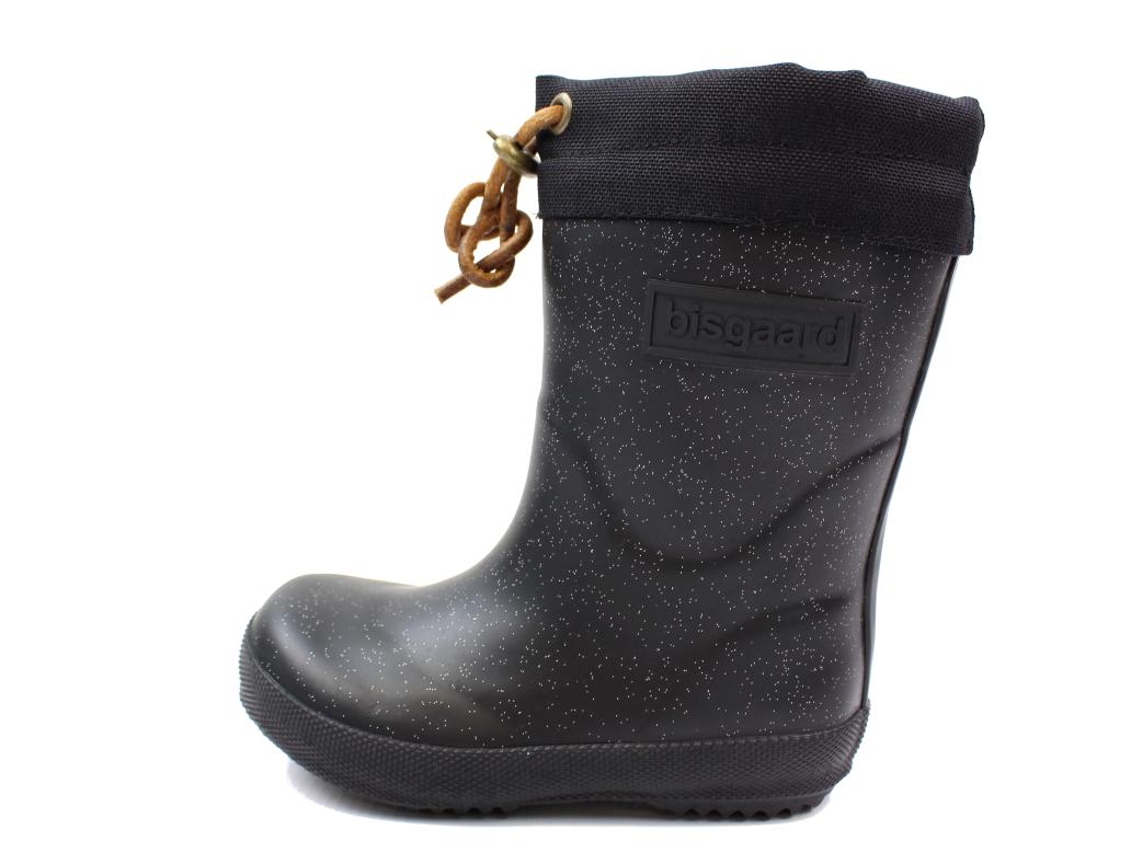 7bdd879dcf0e Bisgaard vintergummistøvle sort glimmer