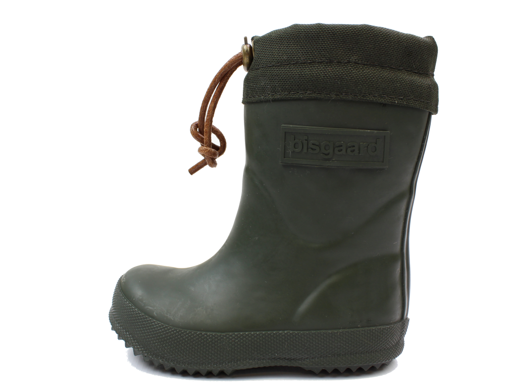 44dd8190478c Bisgaard vintergummistøvle grønne