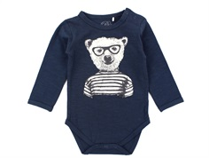 Petit by Sofie Schnoor body dark blue bear