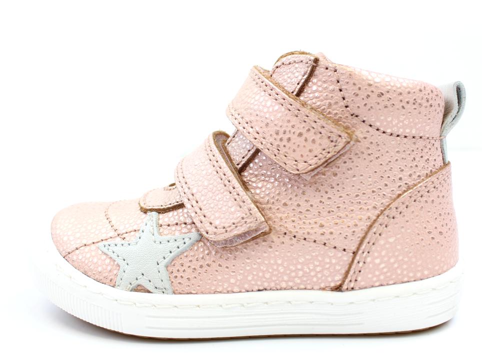e44e84a289f0 Bisgaard sneakers blush med stjerne