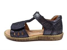 db0b62d737be Bundgaard Manillo sandal black glitter