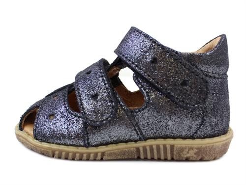 d9136e33755 Bundgaard sandal sort glimmer | Rabba sandal glimmer Bundgaard | str. 20-25  | Tilbud