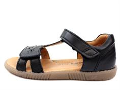 0df5b4480c0 Bundgaard sandal sort til piger | Reeba | SOMMERUDSALG