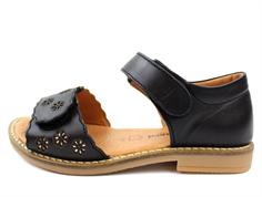 e54af43b5965 Bundgaard Alma sandal black flowers