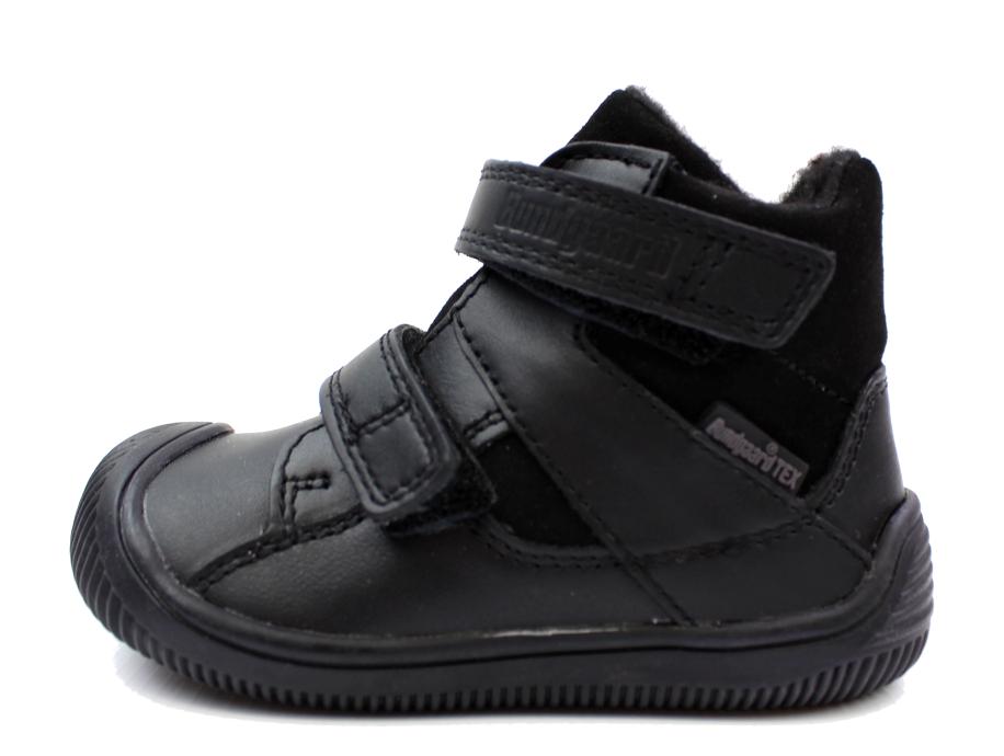 852944510e3a Bundgaard WALK sko sort med velcro og TEX