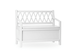 Cam Cam kids bench Harlequin white