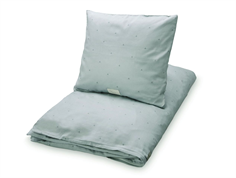 CamCam CamCam adult bedding dot misty green
