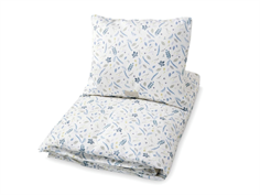 CamCam CamCam baby bedding pressed leaves blue