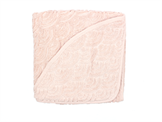CamCam baby towel hooded rose
