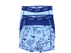 CeLaVi boxer-shorts dusk blue (3-pack)