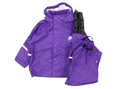 CeLaVi rainset bukser og jakke purple
