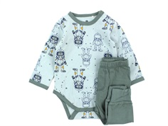 CeLaVi babypyjamas balsam green space