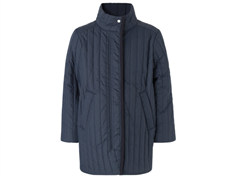 Mads Norgaard Chilini quilt jakke navy