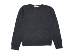 Christina Rohde sweater charcoal uld