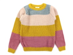 En Fant pullover harvest gold striber