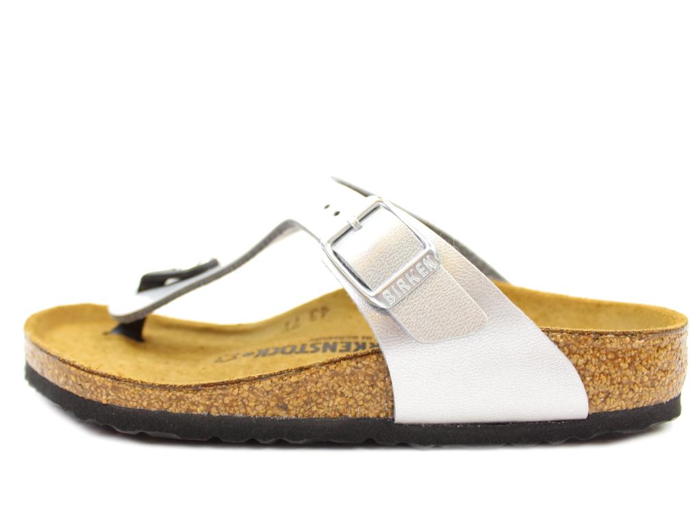 bba78de8 Birkenstock børn sandal sølv | Gizeh Kinder silver | str. 30-34 | UDSALG