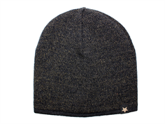 Huttelihut Hiphop hue dark grey gold