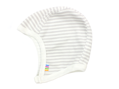 Joha babyhue mini stripe white grey