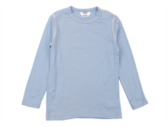 Joha langærmet t-shirt/undertrøje dusty blue uld