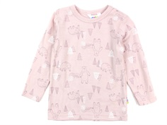 Joha bluse rosa happy bear uld