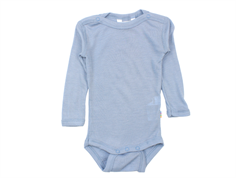 Joha body dusty blue uld/silke