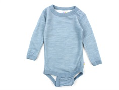 Joha body denim blue uld/bambus