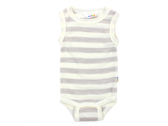Joha body stripe grey offwhite uld short