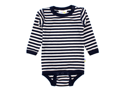 Joha body landskab blue uldJoha body stripe navy uld