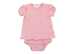 Joha body t-shirt rose melange bomuld