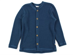 Joha cardigan strik dark blue uld