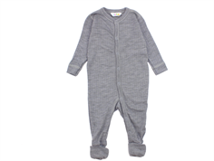 Joha nightsuit light grey melange