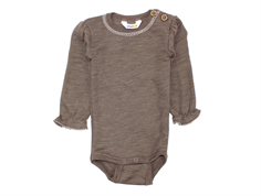 Joha body chestnut uld/silke med blonde