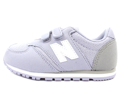New Balance sneaker lilac/grey med velcro