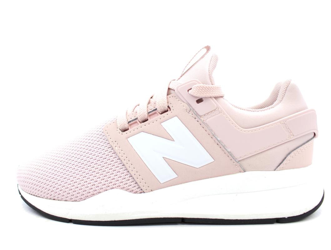 wyprzedaż w sklepie wyprzedażowym wysoka moda nowe tanie New Balance sneaker rosa shell med snørebånd