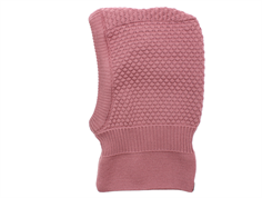 MP Balaclava Oslo elefanthue rose grey uld