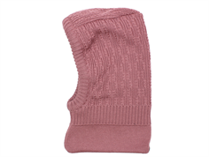 MP Balaclava Uppsala elefanthue rose grey uld