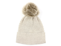 MP hue Chunky Oslo sand fake fur pom pom