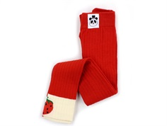 Mini Rodini leggings ribbed red strawberry