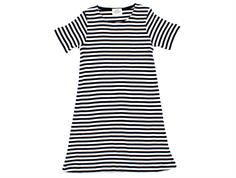 Mads Norgaard Darling kjole stripes black white