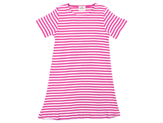 Mads Norgaard Darling kjole stripes deep pink