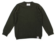Mads Nørgaard sweater Karstino forest night uld recycled